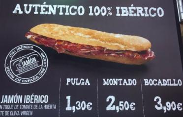 diferencia entre tacos, fajitas y quesadillas. En España un baguette puede ser una pulga, montado o bocadillo